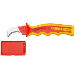 Gedore VDE 4527 K VDE-нож для резки кабеля с загнутым лезвием