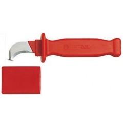 Gedore VDE 4527 VDE-нож для резки кабеля с загнутым лезвием